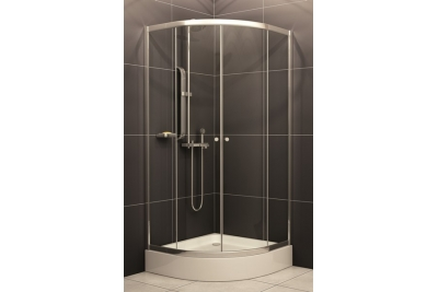 H2O Projecta íves zuhanykabin, zuhanytálcával, szifonnal 90 cm