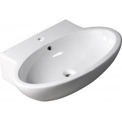 Isvea Dinasty Pultra szerelhető mosdó 10SF50075 75x18x51 cm