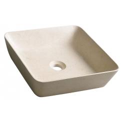 Sapho Blok 14 2401-16 Galala matt kőmosdó 40x10x40 cm