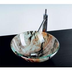 Sapho Beauty Rock üvegmosdó 2501-07 42x14 cm