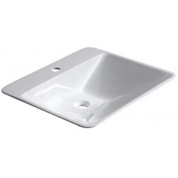 Isvea Edge Pultra szerelhető mosdó 26130101 59x16x54 cm