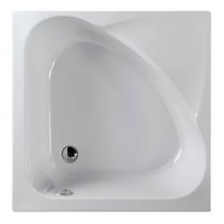Polysan Carmen 29611 akril magasított szögletes zuhanytálca  90x90x30 cm
