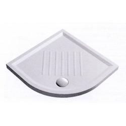 GSI Extra Flat 349711 íves kerámia zuhanytálca 90x90x6 cm