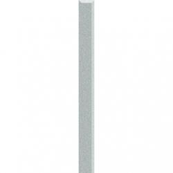 Kwadro Listwy szklane Silver dekorcsík 2,3 x 25 cm