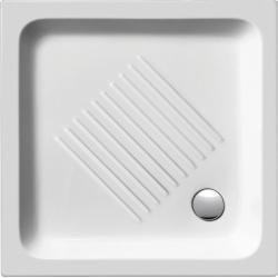 GSI Standard 438011 szögletes kerámia zuhanytálca  80x80x10 cm