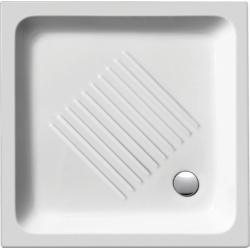 GSI Standard 439011 szögletes kerámia zuhanytálca  90x90x12 cm