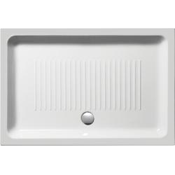 GSI Standard 499411 szögletes kerámia zuhanytálca  120x80x11 cm