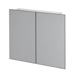 Erra Greta 55114 fürdőszobai tükrös szekrény 75x70x12 cm