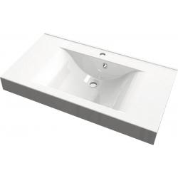 Isvea Nadja Pultra szerelhető mosdó 68091 90x10x50 cm