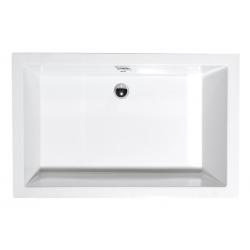 Polysan Deep 71564 akril magasított téglalap zuhanytálca  120x75x26 cm