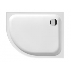 Jika Tigo 852211 aszimmetrikus kerámia zuhanytálca 100x80 cm