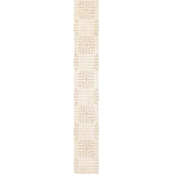 Kwadro Capella Geometryk Beige dekorcsík 4,8 x 33,3 cm