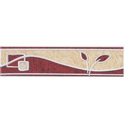 Zalakerámia Kapri GENOVA SZ-5 dekorcsík 20 x 5 cm