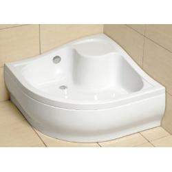 Radaway Korfu A 4588400-03 akril magasított zuhanytálca  80x80x39,5x24 cm