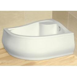 Radaway Korfu E 4E81400-03R akril jobbos magasított  aszimmetrikus zuhanytálca 100x80x39,5x24 cm
