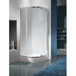 Sanplast KP1DJ/TX5 negyedköríves sarok zuhanykabin nyíló ajtóval 80 cm