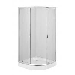Deante Funkia KYP 051K félköríves zuhanykabin 90 cm