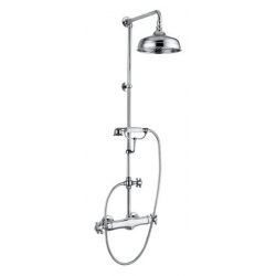 Sapho London LO41RM1151 zuhanyoszlop termosztatikus csapteleppel, zuhanyszettel