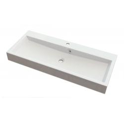 Isvea Orinoko Pultra szerelhető mosdó OR100 100x10x42 cm