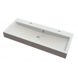 Isvea Orinoko Pultra szerelhető mosdó OR101 100x10x42 cm