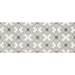 Opoczno Black&White Pattern D dekorcsempe 19,8x59,8 cm