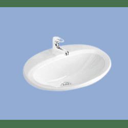 Alföldi Solinar Beépíthető Mosdó  6006 40 xx  60 x 48 cm