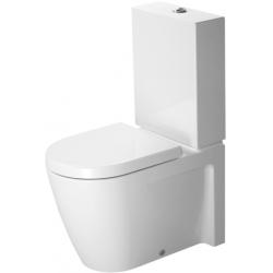 Duravit Starck 2 Mélyöblítésű Hátsó Alsó Vario Kifolyású Kombináció Álló WC 214509 00 00