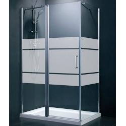Niagara Wellness Cara téglalap zuhanykabin 80x100 cm