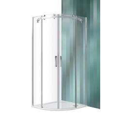 Roltechnik Ambient Line AMR2N íves zuhanykabin tolóajtóval 100 cm