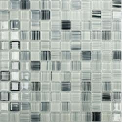 Artic 25x25x4 mm üvegmozaik