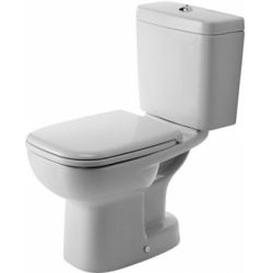 Duravit D-Code Mélyöblítésű Belső Alsó Kifolyású Kombináció Álló WC 211101 00 002
