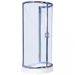 Sanotechnik Sanodusch B28C falsíkra szerelhető íves zuhanykabin 100x85,5 cm