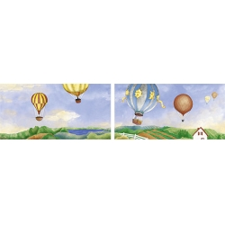 Ape Lord Baloon Mix dekorcsík 9,2 x 20 cm