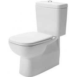 Duravit D-Code Mélyöblítésű Hátsó Alsó Kifolyású Kombináció Álló WC 211809 00 002