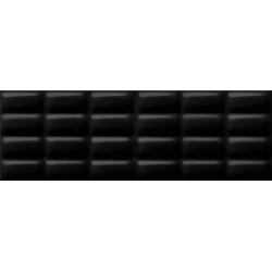 Opoczno Pret a Porter Black Glossy Pillow falicsempe 25x75 cm