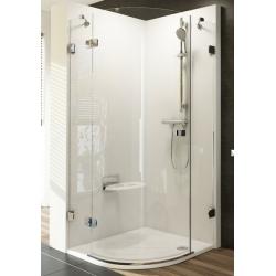 Ravak Brilliant BSKK3 háromrészes, negyedköríves zuhanykabin 90 cm
