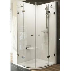 Ravak Brilliant BSKK4 négyrészes, negyedköríves zuhanykabin 100 cm