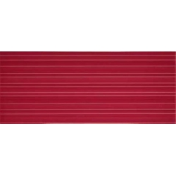 Color Crypton Red falicsempe 25x60 cm