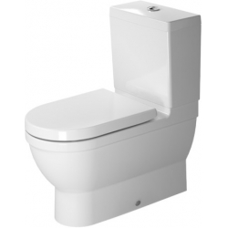 Duravit Starck 3 Mélyöblítésű Hátsó Alsó Vario Kifolyású Kombináció Álló WC 214109 00 00