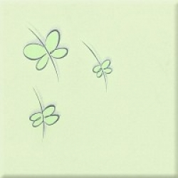 Arte D-Pastel Motyle 3 dekorcsempe 20 x 20 cm