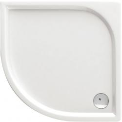 Deante Cubic KTK 052B lapos, íves zuhanytálca 80 cm
