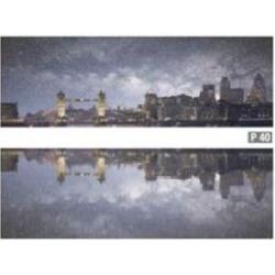 Azulev Pure Decor Skyline Multicolor 2 részes dekorcsempe 20 x 60 cm
