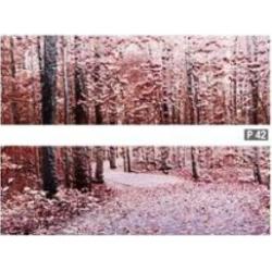 Azulev Pure Decor Trees Multicolor 2 részes dekorcsempe 20 x 60 cm