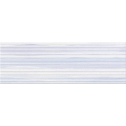 Opoczno Elegant Stripes Blue Structure falicsempe 25x75 cm