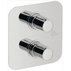 Sapho Glam GL62161 falba süllyesztett termosztatikus zuhany csaptelep