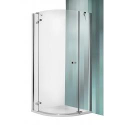 Roltechnik Elegant Line GRP1 íves zuhanykabin egyszárnyas ajtóval 100 cm jobbos