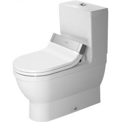 Duravit SensoWash Starck 3 Mélyöblítésű Kombináció Álló WC 214159 00 00