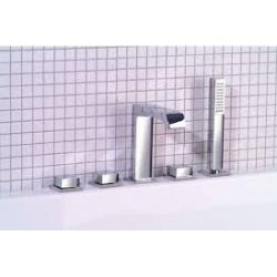 Sapho IFTECH5 5 részes termosztátos kádperemre szerelhető kád csaptelep