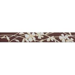 Tubadzin Inverno fiore dekorcsík 4,5 x 36 cm