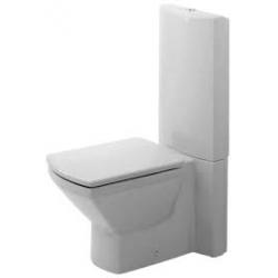Duravit Caro Mélyöblítésű Hátsó Alsó Kifolyású Kombináció Álló WC 022509 00 00